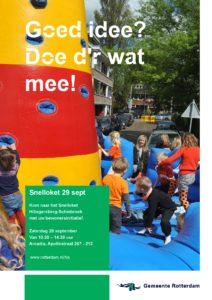 Snelloket bewonersinitiatieven @ Huis van de Wijk Arcadia | Rotterdam | Zuid-Holland | Nederland