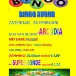 Bingo 24 februari @ Plaza Arcadia | Rotterdam | Zuid-Holland | Nederland